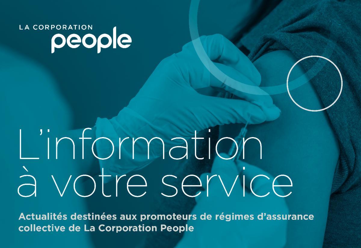 L'information votre service : La prochaine étape : obtenir un vaccin