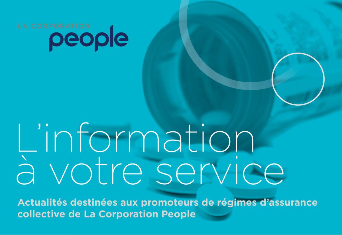 L'information à votre service : Nouvelle entente entre l'Association québécoise des pharmaciens propriétaires, les assureurs et les tiers fournisseurs.