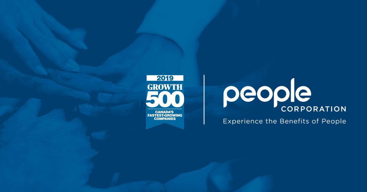 People Corporation Ranks No. 280 on the 2019 Growth 500